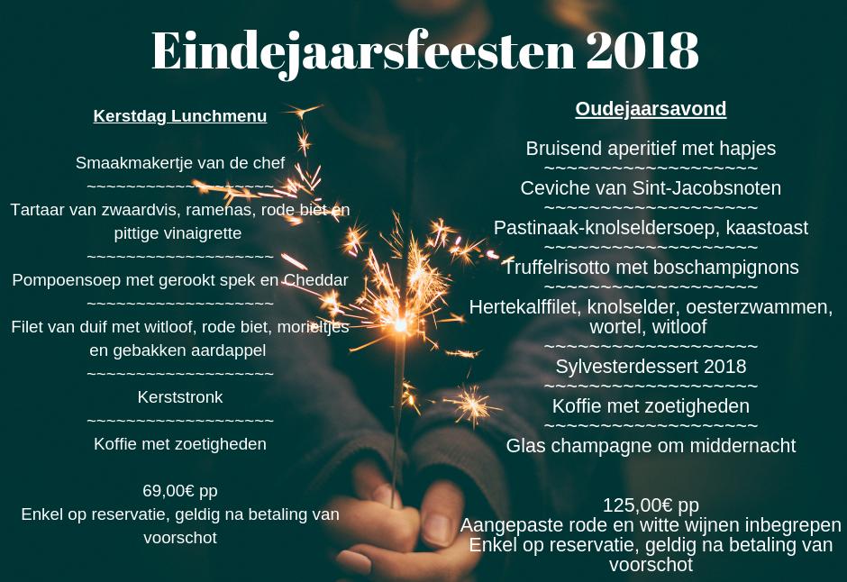 eindejaarsfeesten - brasserie Carlton Mechelen